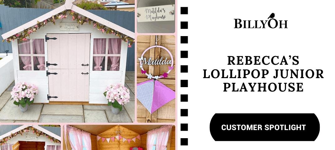 BillyOh Lollipop Junior playhouse collage