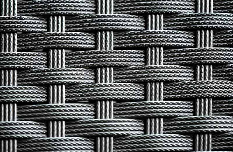 PE synthetic rattan material