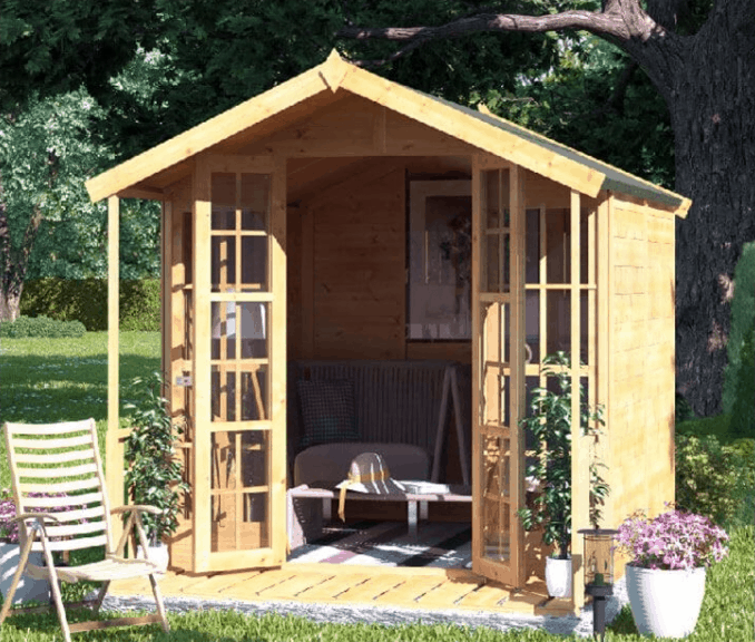 BillyOh Lily Apex tongue and groove summerhouse