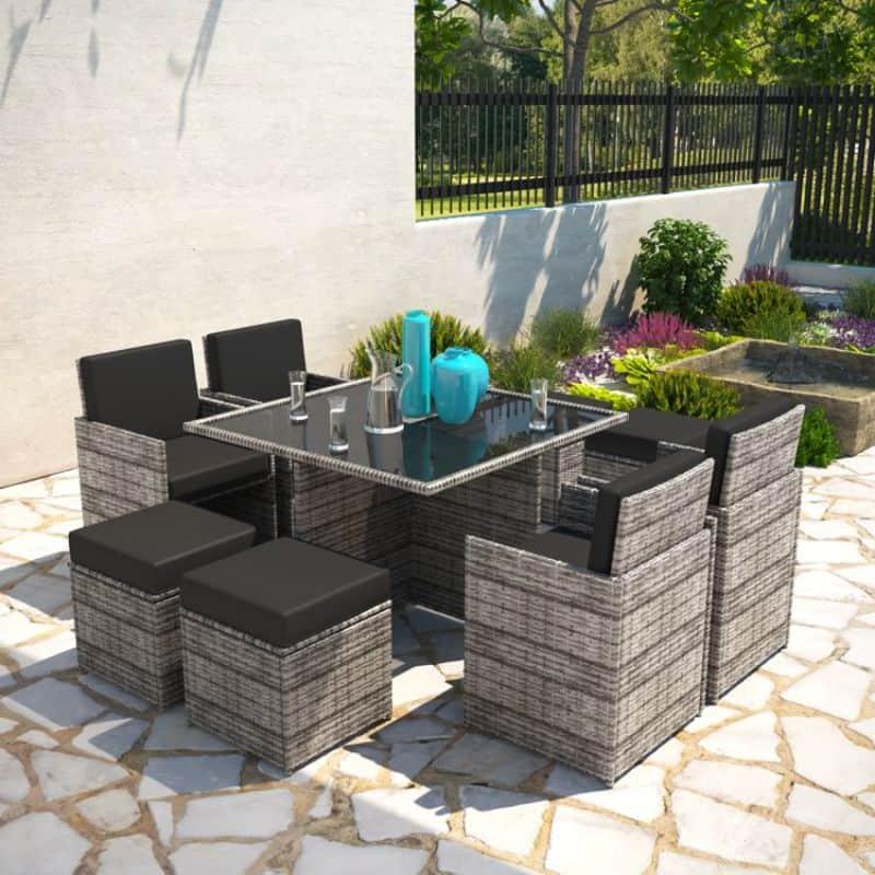 BillyOh Modica 8-seater rattan cube furniture set