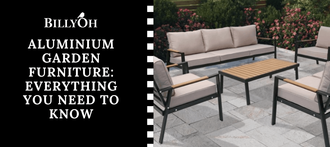 BillyOh Aluminium Garden Furniture Guide with Amalfi 7 Seater Set