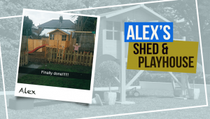 Alex's BillyOh Mini Master Shed and Lollipop Playhouse